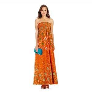 NWT DVF Hannah Maxi Dress Size 4